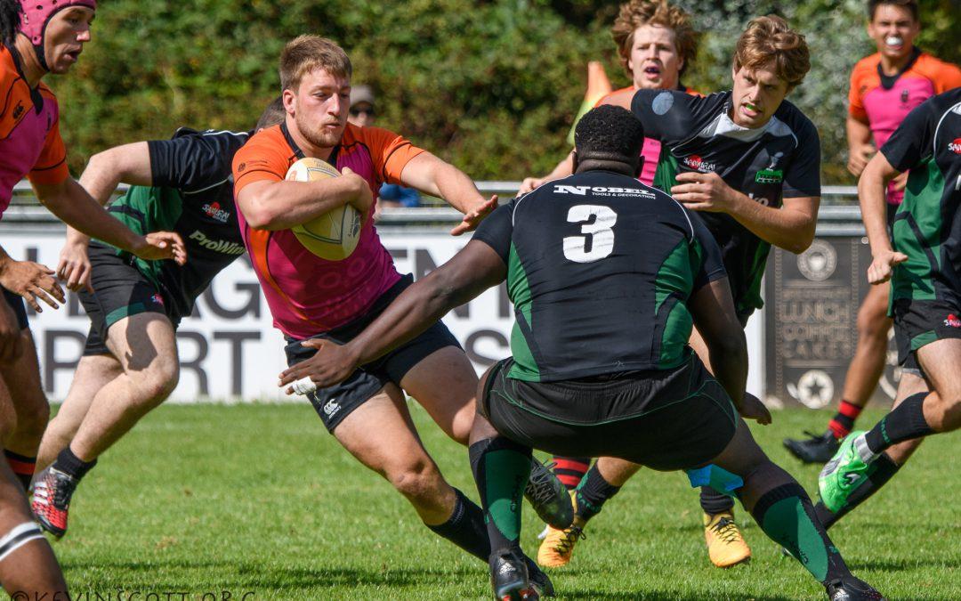 Nederland Studenten XV behaalt vierde plaats op Haagse Rugby Dagen